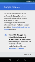 Huawei P8 Lite - E-Mail - Konto einrichten (gmail) - 14 / 18
