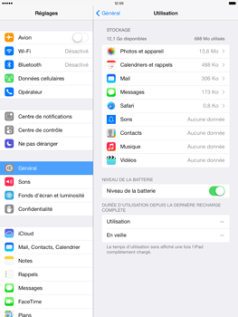 Apple iPad Air - Applications - Comment désinstaller une application - Étape 8