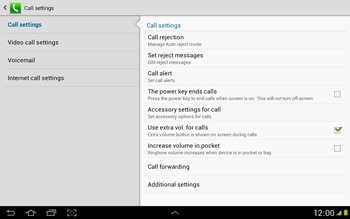 Samsung N8000 Galaxy Note 10-1 - Voicemail - Manual configuration - Step 6