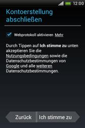 HTC A320e Desire C - Apps - Konto anlegen und einrichten - Schritt 12