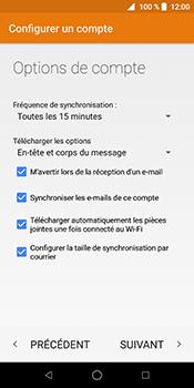 ZTE Blade V9 - E-mail - Configuration manuelle - Étape 22