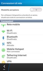 BlackBerry Z10 - Internet e roaming dati - Disattivazione del roaming dati - Fase 5