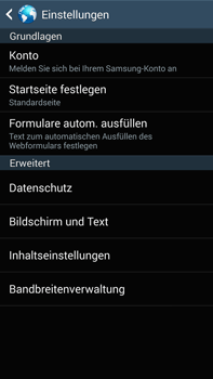 Samsung Galaxy Note 3 LTE - Internet - Apn-Einstellungen - 22 / 28
