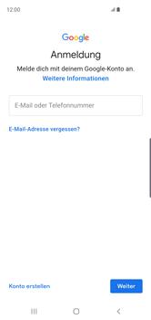 Samsung Galaxy S10 - Apps - Einrichten des App Stores - Schritt 5