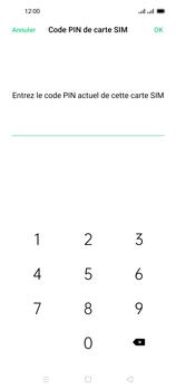 Oppo Reno 4 Pro - Sécuriser votre mobile - Personnaliser le code PIN de votre carte SIM - Étape 9