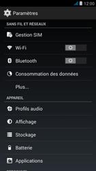 Wiko jimmy - Internet et roaming de données - Désactivation du roaming de données - Étape 4
