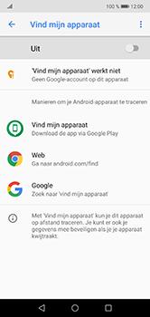 Huawei P20 Lite - Beveiliging en privacy - zoek mijn mobiel activeren - Stap 6