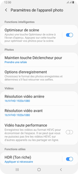 Samsung Galaxy A80 - Photos, vidéos, musique - Prendre une photo - Étape 6