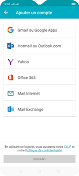 Oppo A9 2020 - E-mails - Ajouter ou modifier un compte e-mail - Étape 5