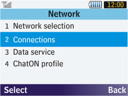 Samsung S3570 Chat 357 - Internet - Manual configuration - Step 5