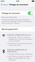 Apple iPhone 5c - Internet et connexion - Partager votre connexion en Wi-Fi - Étape 7