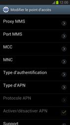Samsung Galaxy S III LTE - Internet et roaming de données - Configuration manuelle - Étape 12