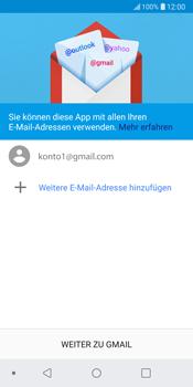 LG G6 - Android Oreo - E-Mail - Konto einrichten (gmail) - Schritt 14