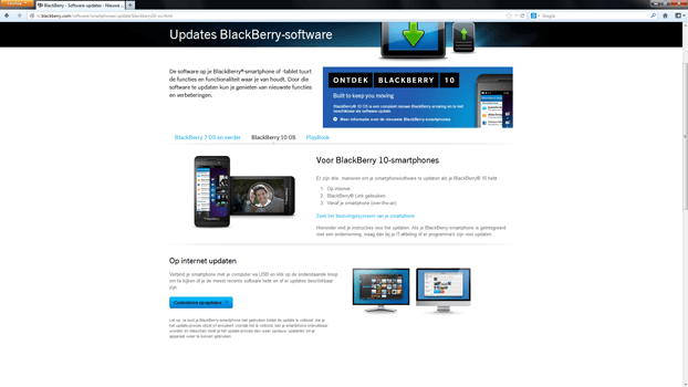 BlackBerry Leap - Software - Installeer firmware update - Stap 4