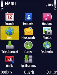 Nokia N86 - Internet - Navigation sur Internet - Étape 2