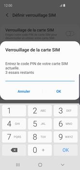 Samsung Galaxy S10e - Prise en main - Comment activer un code SIM - Étape 8