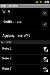 Alcatel OT-983 - WiFi - Configurazione WiFi - Fase 7