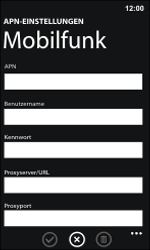 Nokia Lumia 800 / Lumia 900 - MMS - Manuelle Konfiguration - Schritt 9