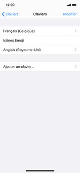 Apple iPhone X - iOS 13 - Prise en main - Comment ajouter une langue de clavier - Étape 8