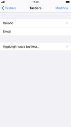Apple iPhone 6s - iOS 13 - Operazioni iniziali - Come aggiungere una lingua alla tastiera - Fase 6