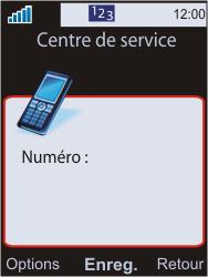 Sony W595 - SMS - Configuration manuelle - Étape 8