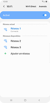 Samsung Galaxy S9 Plus - Android Pie - Wifi - configuration manuelle - Étape 8