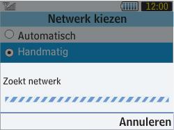 Samsung S3570 Chat 357 - Bellen - in het buitenland - Stap 7