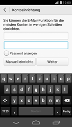 Huawei Ascend P7 - E-Mail - Konto einrichten (outlook) - 0 / 0