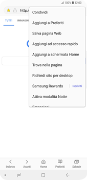 Samsung Galaxy S9 Plus - Internet e roaming dati - Uso di Internet - Fase 19