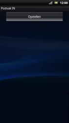 Sony Xperia Neo - E-mail - E-mails verzenden - Stap 4