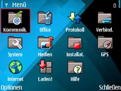 Nokia E71 - E-Mail - Konto einrichten - Schritt 3