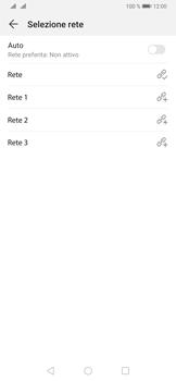 Huawei P30 - Rete - Selezione manuale della rete - Fase 9