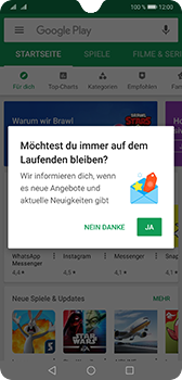 Huawei Mate 20 - Apps - Konto anlegen und einrichten - Schritt 18