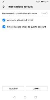 Huawei Mate 10 Pro - Android Pie - E-mail - configurazione manuale - Fase 16