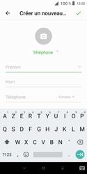Alcatel 1X - Contact, Appels, SMS/MMS - Ajouter un contact - Étape 7