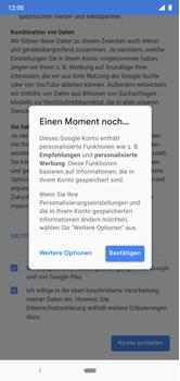 Nokia 6.1 Plus - Android Pie - Apps - Konto anlegen und einrichten - Schritt 18