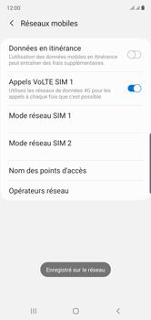 Samsung Galaxy Note10 - Réseau - Sélection manuelle du réseau - Étape 14