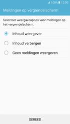 Samsung Galaxy S7 - Beveiliging en ouderlijk toezicht - Toegangscode instellen - Stap 11