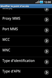 Samsung S5830 Galaxy Ace - Internet - configuration manuelle - Étape 12