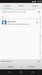 Sony C5303 Xperia SP - E-mail - Envoi d