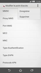 Sony Xperia Z2 - MMS - Configuration manuelle - Étape 15