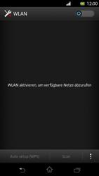 Sony Xperia T - WiFi - WiFi-Konfiguration - Schritt 5