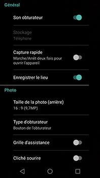Motorola Moto E4 Plus - Photos, vidéos, musique - Prendre une photo - Étape 9