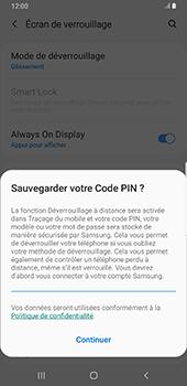 Samsung Galaxy S9 Plus - Android Pie - Sécurité - activéz le code PIN de l'appareil - Étape 12