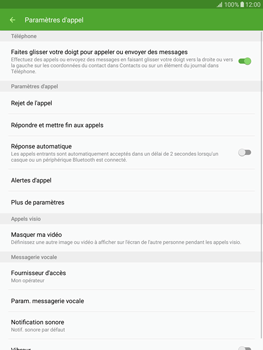 Samsung T815 Galaxy Tab S2 9.7 - Messagerie vocale - Configuration manuelle - Étape 6