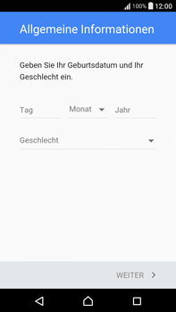 Sony Xperia XA Ultra - Apps - Konto anlegen und einrichten - 7 / 22