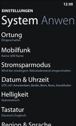 Nokia Lumia 800 / Lumia 900 - Internet und Datenroaming - Deaktivieren von Datenroaming - Schritt 4