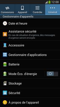 Samsung Galaxy Note 3 - Sécuriser votre mobile - Personnaliser le code PIN de votre carte SIM - Étape 5