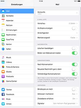 Apple iPad Pro 9.7 inch - E-Mail - Konto einrichten (yahoo) - 9 / 11