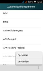 Huawei Y3 - MMS - Manuelle Konfiguration - 17 / 29